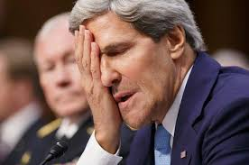 John Kerry can't believe he just lold another WHOPPER!