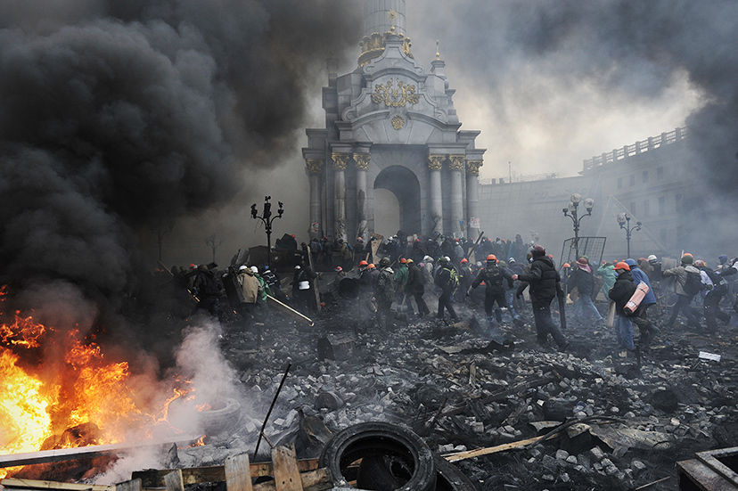 TOPSHOTS-UKRAINE-POLITICS-UNREST