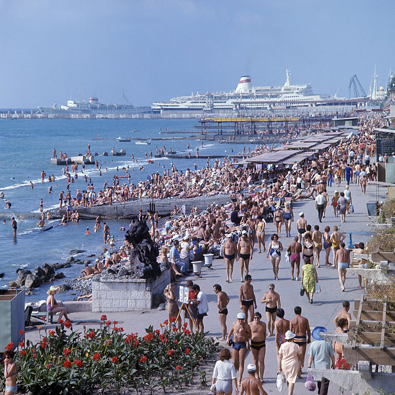 Sochi beaches are known as the Caucasian Riviera.
