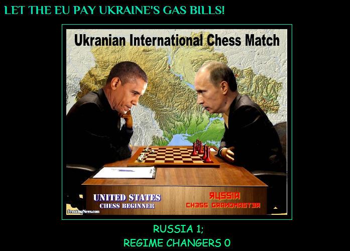 Putin-Obama-Chess