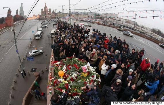 Outspoken Russian Opposition Politician Boris Nemtsov Is Shot Dead In Moscow