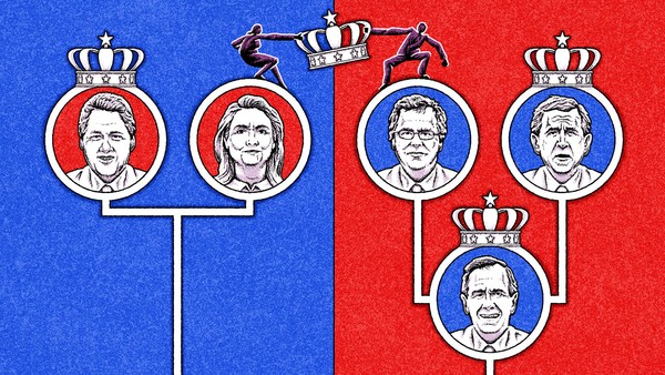 Hillary Versus Jeb: Are Political Dynasties Transforming The USA Into A Constitutional Monarchy?