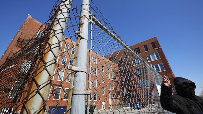 Police facility called Homan Square. (Reuters/Jim Young)