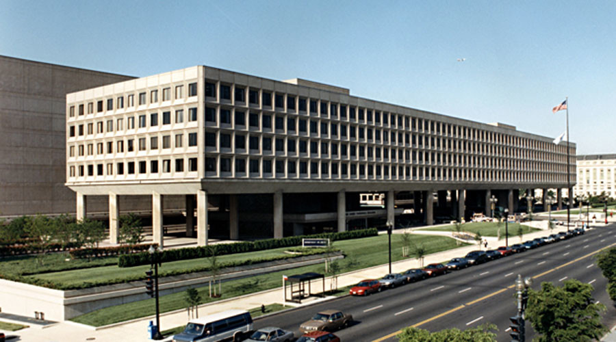 United States Department of Energy headquarters in Washington. © Wikipedia