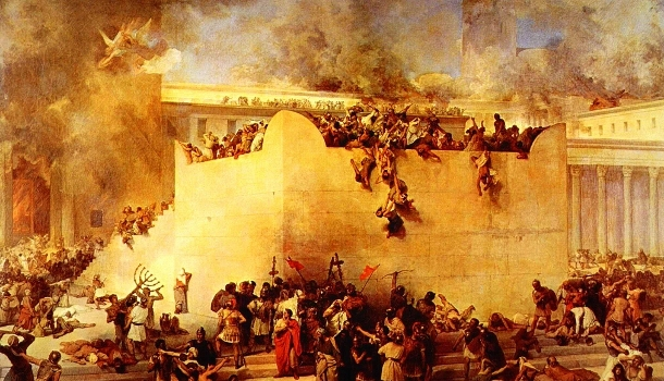 "The first ""abomination of desolation"" occurred when Jerusalem was destroyed by the Romans in 70 A.D."