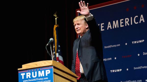 U.S. Republican presidential candidate Donald Trump © Gretchen Ertl / Reuters