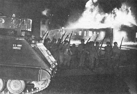 Kent State University ROTC Building Fire During Vietnam War Protest In 1970