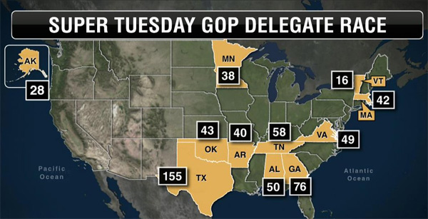 Super Tuesday GOP delegates (Illustration: Twitter)
