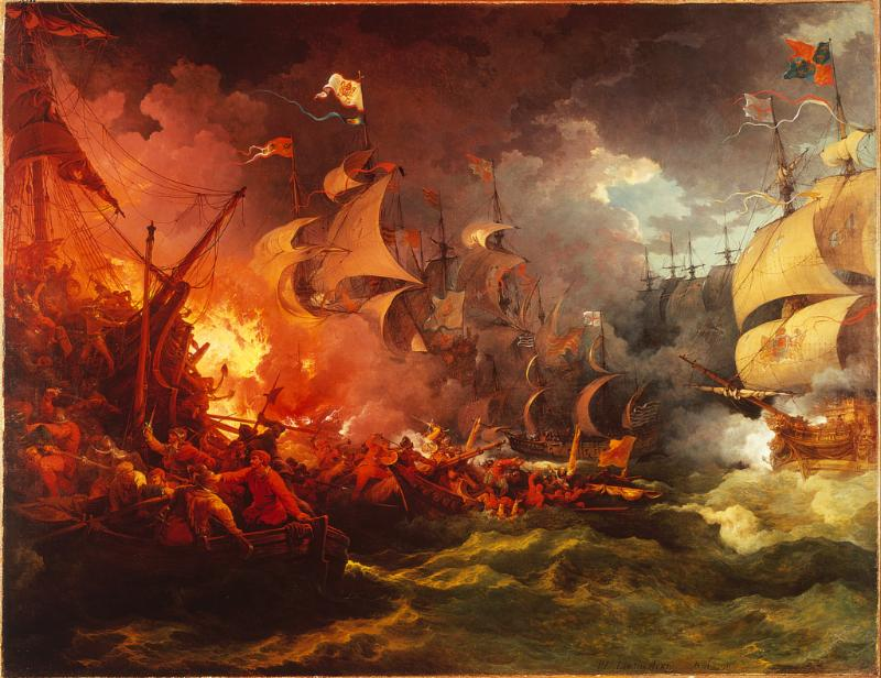 The sinking of the Spanish Armada broke Spain's monopoly of the New World, held since the time of Columbus, and opened up a rush of European countries