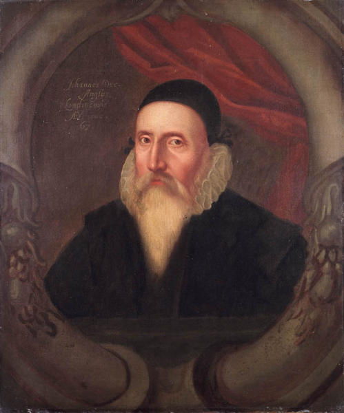 Illuminism, Freemasonry and the Great White Brotherhood John_Dee_Ashmolean