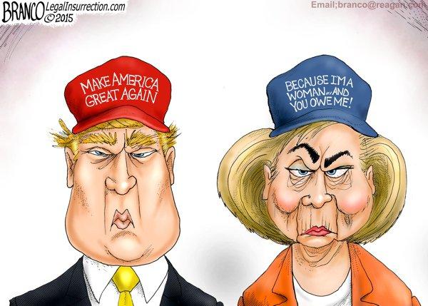 Trump-vs.-Clinton