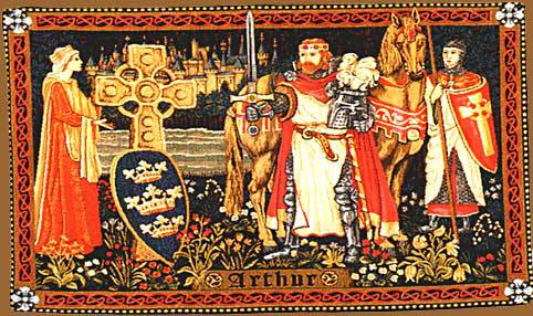 Illuminism, Freemasonry and the Great White Brotherhood King-arthur-old