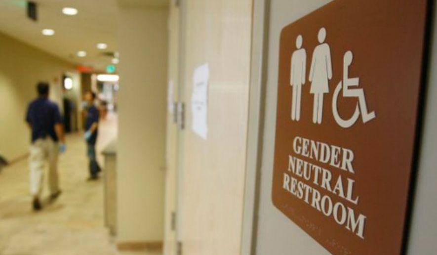 Bathroom Sign Texas Mall news 'straight into the paper shredder': texas responds to obama's