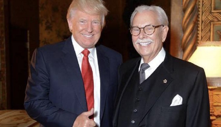 """""""Just a short note to you on our pus headed 'president' !!!! This character who I refer to as zero (0) should have been taken out by our military and shot as an enemy agent in his first term !!!!! Instead he still remains in office doing every thing he can to gut the America we all know and love !!!!!"""" Donald Trump's longtime butler Anthony Senecal wrote on Facebook. (Photo from the Facebook page of Anthony Senecal)"""