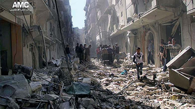 War crimes in the Syrian conflict