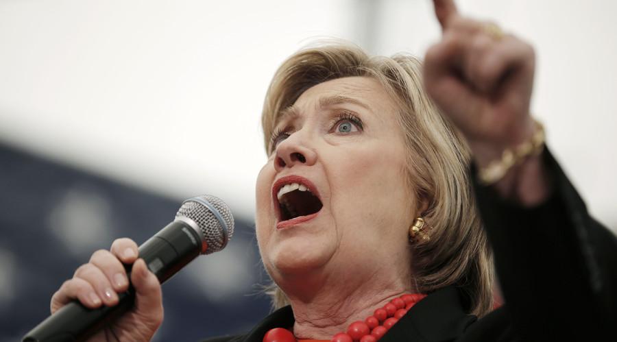 U.S. Democratic presidential candidate Hillary Clinton © Mike Segar / Reuters
