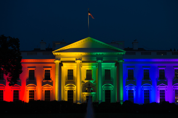 Deep State's Obamanation Desperately Resists Trump's Wrecking Ball Rainbow_white_house