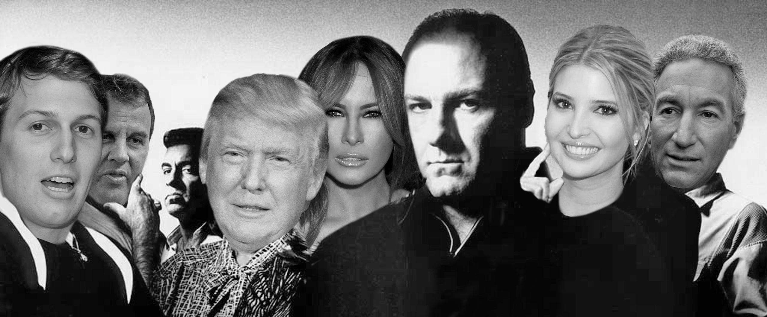 Image result for Trump-Kushner Crime Family