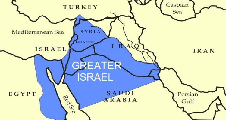 Trump Taken Over! Mideast Co-Conspirators Advance Greater Israel Project!