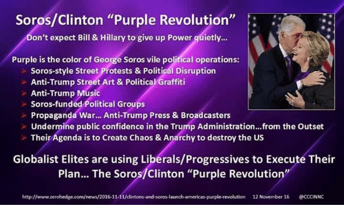 The Great American Eclipse plus more Soros-clinton-purple-revolution-ont-expect-bill-hillary-to-give-7497027