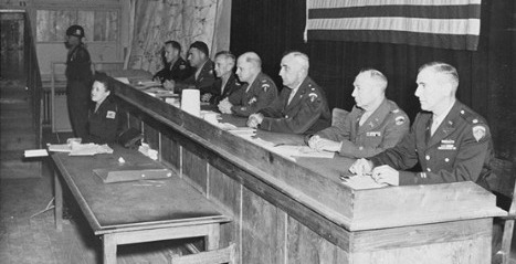 MILITARY TRIBUNALS: Why They Are Absolutely Necessary