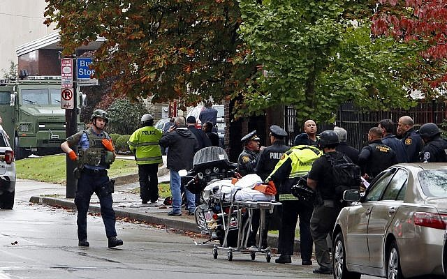 FALSE FLAG MASS SHOOTING: Pittsburgh Synagogue Targeted by Deep State-Directed Terrorist Attack AP_18300581058691-e1540657247860-640x400