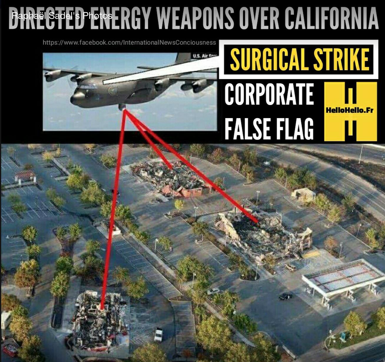 Some California DEW Attacks Were Actually Surgical Strikes (Photo