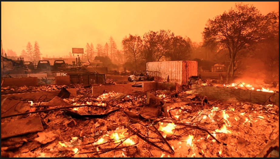 Smoking Gun: Hard Evidence Shows Camp Fire Was Manmade, Genocide & Mass Destruction of Paradise Carefully Planned