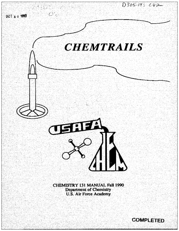 Proof Positive Us Government Has Outright Lied About Chemtrails